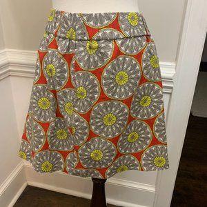 NWT Banana Republic Skirt Floral XL